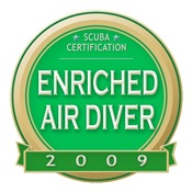 EANx Diver 2009 Medallion