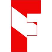 Scuba Flag Letter F