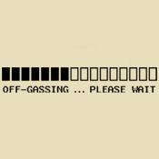 Off-Gassing ... (B/W)