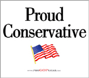 """Proud Conservative"""