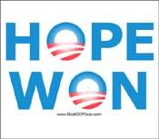 """""""Hope Won"""""""