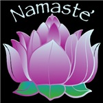 Lotus and Namaste