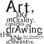 Art, like morality...
