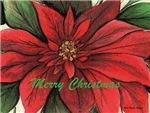Poinsettia-Merry Christmas