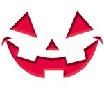 Smiley Halloween: Red