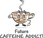 Unique Baby Gifts - Vintage Future Caffeine Addict