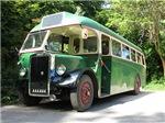 Vintage 1940s bus homewares