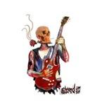 Skull guitar player Homewares