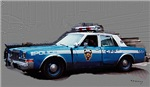 New York City Police Car