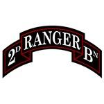 2nd Ranger Battalion Scroll