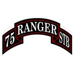 75th Ranger Regiment STB Scroll
