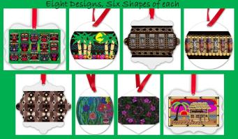 Hawaiian Inspirational Ornaments