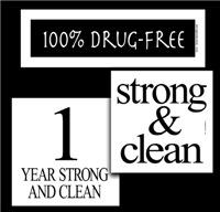 Drug Free; Congratulations!