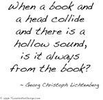 Lichtenberg on Books