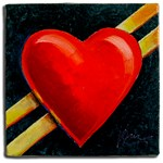 My Heart's on the Line on the Road of Love