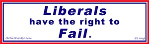 Liberals have the right to Fail
