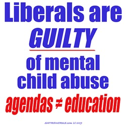 Liberal Child Abuse