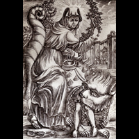 St. Martha & the Tarasque