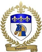 VOUTOUR Family Crest