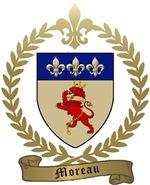 MOREAU Family Crest