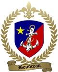 BOUDREAU Family Crest