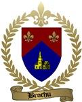 BROCHU Family Crest