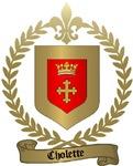 CHOLETTE Family Crest