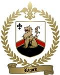 RICARD Family Crest