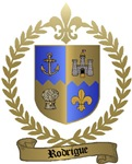 RODRIGUE Family Crest
