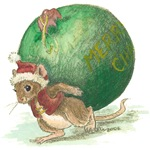 Mouse at Christmas