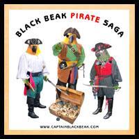 Black Beak Pirate Saga White