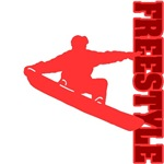 Freestyle Snowboard (Red)