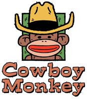 Cowboy Monkey t-shirt