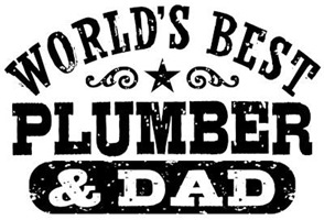 World's Best Plumber and Dad t-shirts