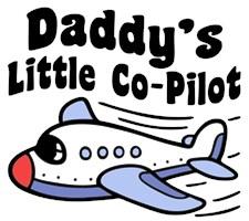 Daddy's Little Co-Pilot t-shirt