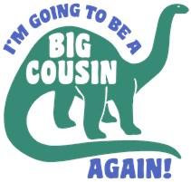 Big Cousin Again t-shirt