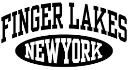 Finger Lakes New York t-shirts