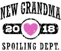 New Grandma 2018 t-shirts