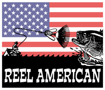 Reel American Fishing t-shirts