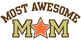 Most Awesome Mom t-shirts
