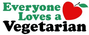 Everyone Loves a Vegetarian t-shirt