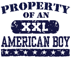 Property of an American Boy t-shirt