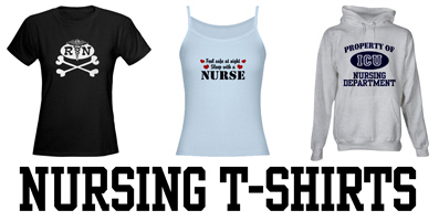Nursing t-shirts and gifts