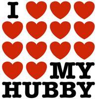 I Love My Hubby t-shirts