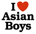 I Love Asian Boys t-shirt