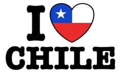 I Love Chile t-shirts