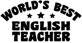 English Teacher t-shirts