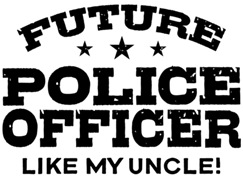 Future Police Officer t-shirts