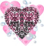 Celtic Art Hearts