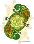 Celtic Art Spiral Trinity